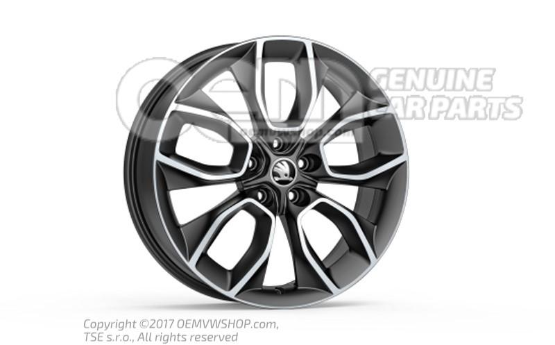565071499 zg6 565071499zg6 llanta de aluminio negro mate - Pulir llantas de aluminio a espejo ...