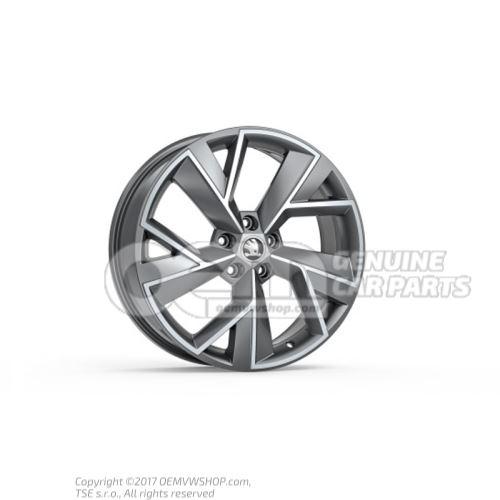 565071499c ha7 565071499cha7 llanta de aluminio antracita - Pulir llantas de aluminio a espejo ...